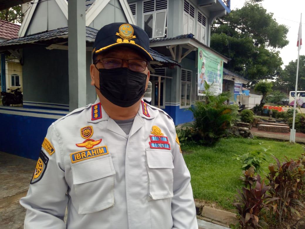 Koordinator Satuan Pelayanan Terminal Alam Barajo Jambi, Ibrahim.