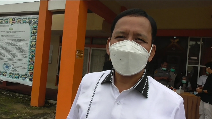 Ketua KPU Provinsi Jambi, M. Subhan. SELOKO.ID/EKO WIJAYA.