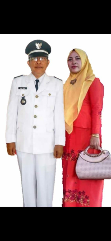 Kepala Desa Pemusiran, Kecamatan Nipah Panjang, Akmal Rauf. SELOKO.ID/HADI SU.
