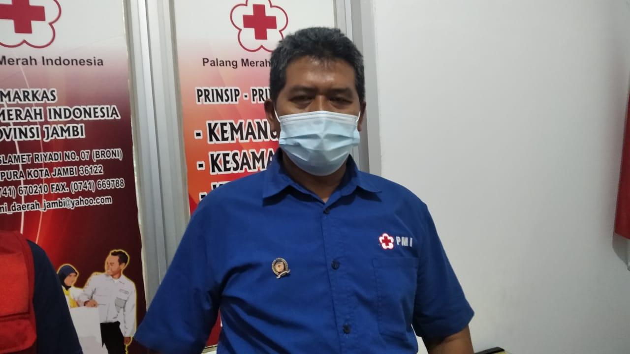 Kepala Bidang Penanganan Bencana dan Pelayanan Sosial PMI Provinsi Jambi, Tedjo Sukmono. SELOKO.ID/Istimewa.